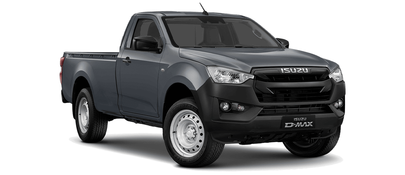 ISUZU_D-Max_SINGLE_N60B_Obsidian Gray_Front