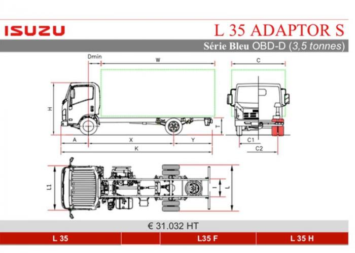 Catalogue Isuzu L35 Adaptor