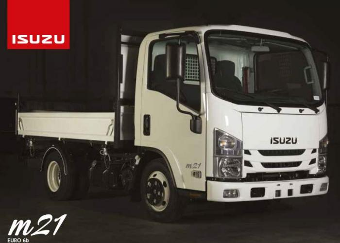 Brochure Isuzu M21 Single Tire