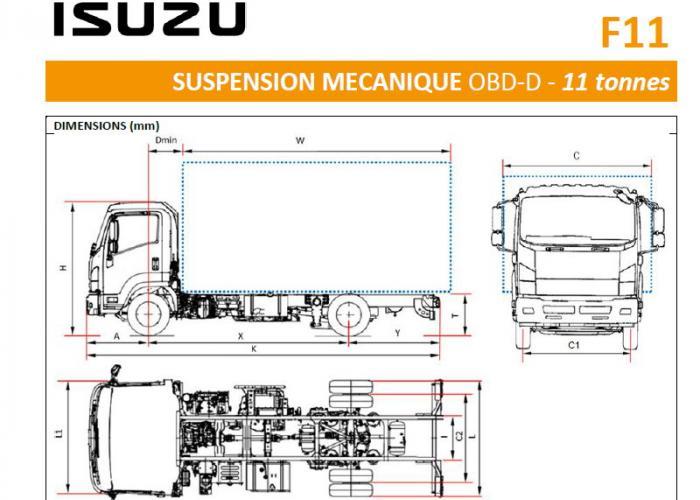 Catalogue Isuzu F11 Susp. Mecanique