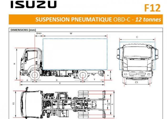 Isuzu F12 Sosp. Pneumatique