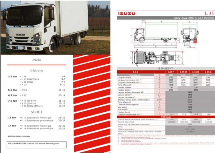 Catalogue Série N-F Euro VI OBD-D, Février 2020