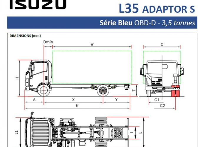 Catalogue Isuzu L35 Adaptor