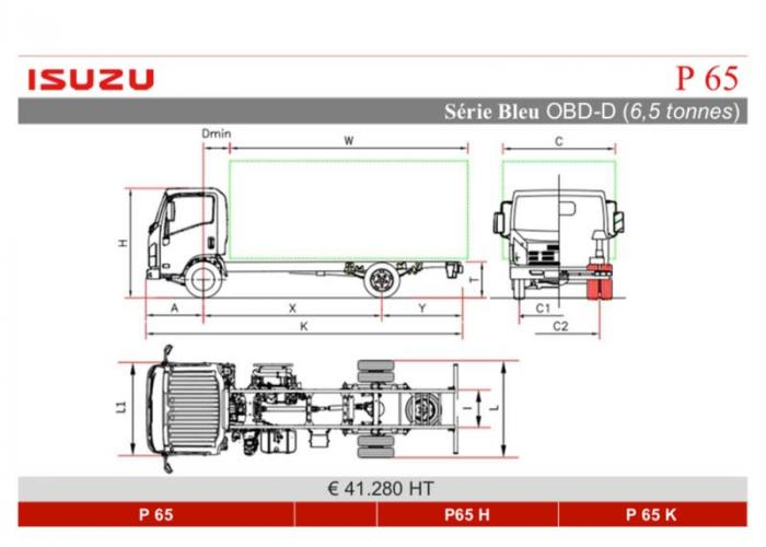 Catalogue Isuzu P65
